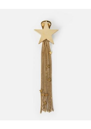 Stella McCartney Yellow Star Tassel Earrings, Women's, Size OneSize
