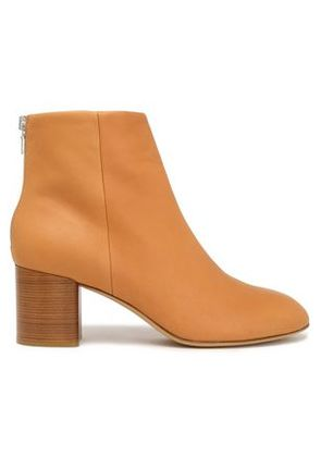 Rag & Bone Woman Drea Leather Ankle Boots Camel Size 39