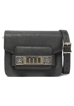 Proenza Schouler Woman Leather Shoulder Bag Anthracite Size -