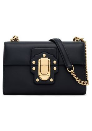 Dolce & Gabbana Woman Leather Shoulder Bag Midnight Blue Size -