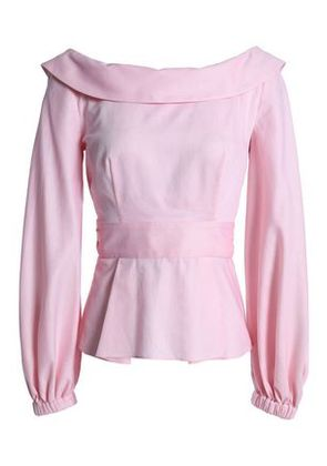 Milly Woman Tie-back Cotton Top Baby Pink Size 14