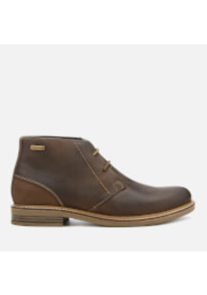 Barbour Men's Readhead Leather 2-Eye Chukka Boots - Choco - UK 7 - Brown