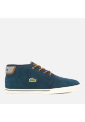 Lacoste Men's Ampthill 318 1 Suede Chukka Boots - Navy/Tan - UK 7 - Blue