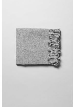 Tuva Wool Shawl - Grey