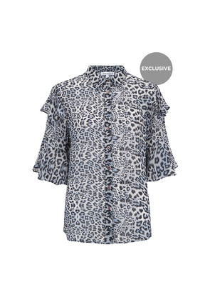 Preorder Exclusive Frankie Shirt - Blue Leopard