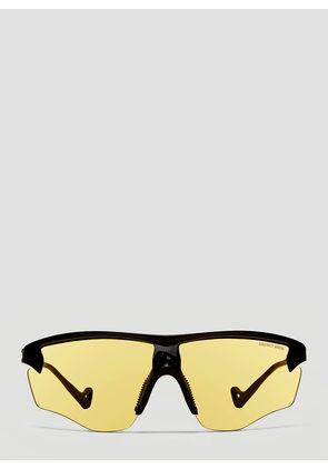 District Vision Junya Black- District Sports Sunglasses in Yellow size One Size