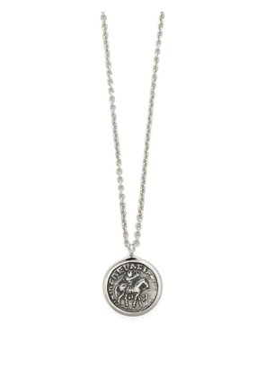 Tom Wood - Coin Pendant Necklace - Mens - Silver