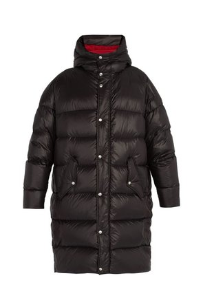 Valentino - Oversized Quilted Down Coat - Mens - Black