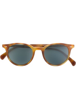 Oliver Peoples 'Delray' sunglasses - Brown