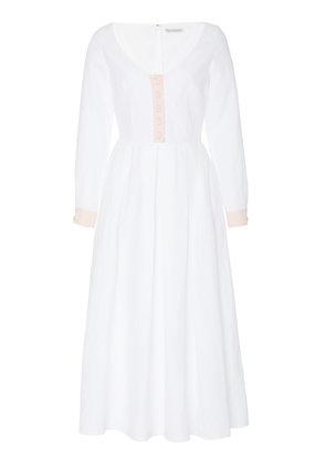 Emilia Wickstead M'O Exclusive Thea A-Line Midi Dress