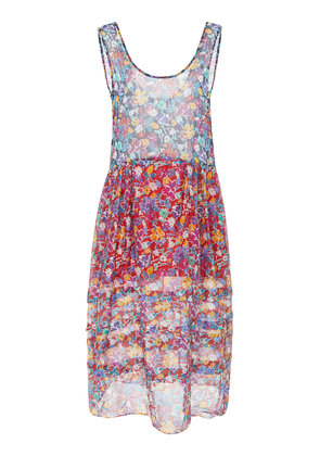 Araks Twyla Floral Cotton Midi Dress