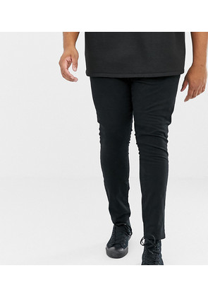 New Look Plus skinny stretch chino in black - Black