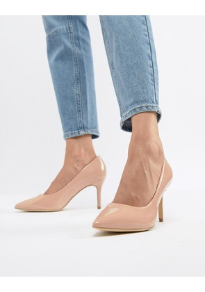 New Look Patent Pointed Court - Oatmeal