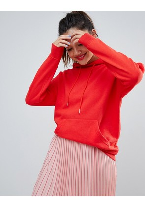 New Look oversized hoody in bright red - Bright red