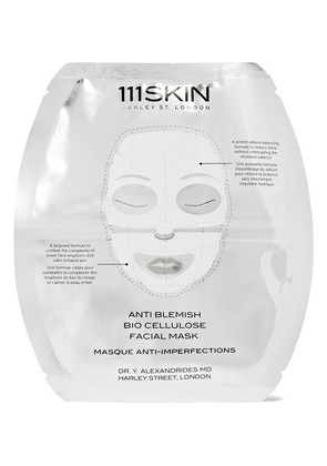 111Skin - Anti Blemish Bio Cellulose Facial Mask - Colorless