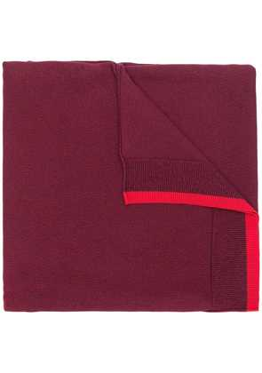 Kenzo ribbed scarf - Red