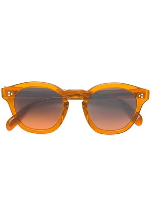 Oliver Peoples Boudreau L.A. square sunglasses - Brown