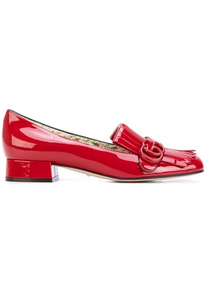 Gucci Marmont loafers - Red