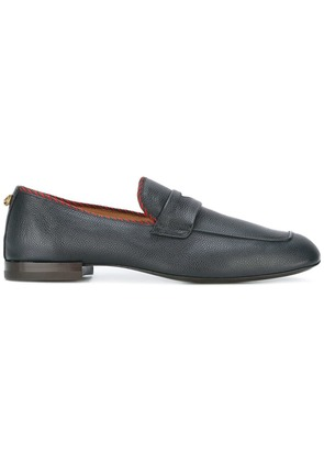Gucci contrast trim loafers - Brown