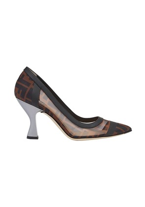 Fendi Zucca pumps - Brown