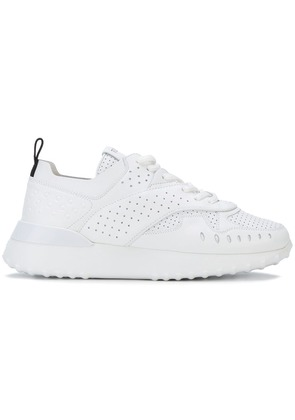 Tod's perforated low-top sneakers - White