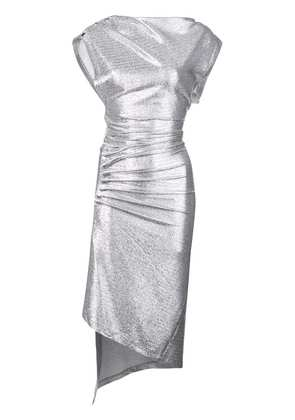 Paco Rabanne metallic fitted dress