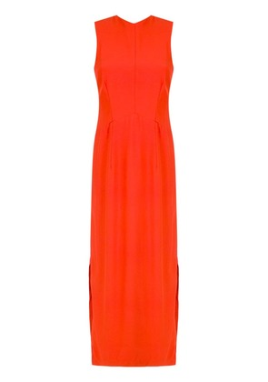 Osklen fitted waist gown - Red