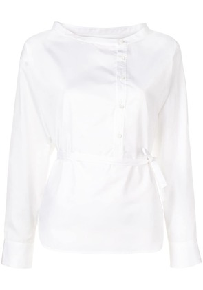 Dsquared2 plain belted shirt - White