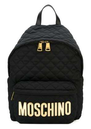 Moschino quilted backpack - Black