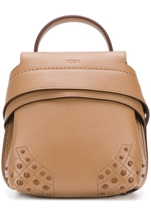 Tod's Wave mini backpack - Brown