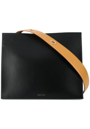 Danse Lente contrast strap shoulder bag - Black