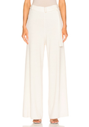 AG Adriano Goldschmied Quill Knit Pant in White