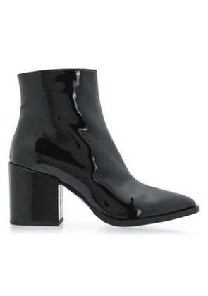 Mcq Alexander Mcqueen Woman Patent-leather Ankle Boots Black Size 40