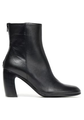 Ann Demeulemeester Woman Leather Ankle Boots Black Size 36