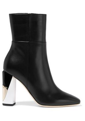 Jimmy Choo Woman Melrose Leather Boots Black Size 35