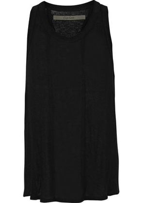 Enza Costa Woman Brushed-jersey Tank Black Size XS