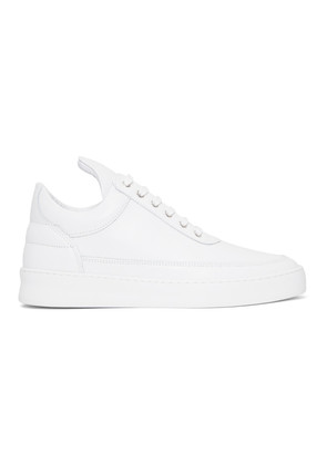 Filling Pieces White Lane Sneakers