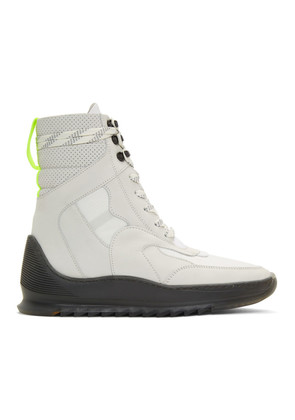 Filling Pieces White Hoth High-Top Sneakers