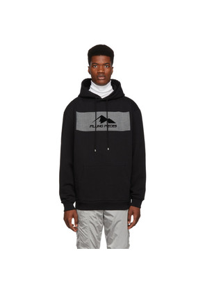 Filling Pieces Black Graphic Hoodie