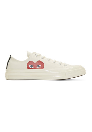 Comme des Garçons Play Off-White Converse Edition Chuck Taylor All-Star '70 Sneakers