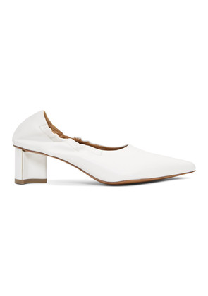 Clergerie White Solal Heels