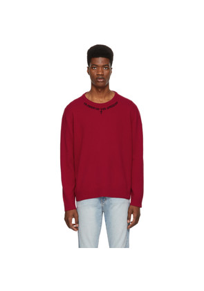 Adaptation Red Cashmere Imilia Reblim Sweater