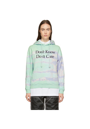 Ashley Williams Green Tie-Dye 'Don't Know' Hoodie