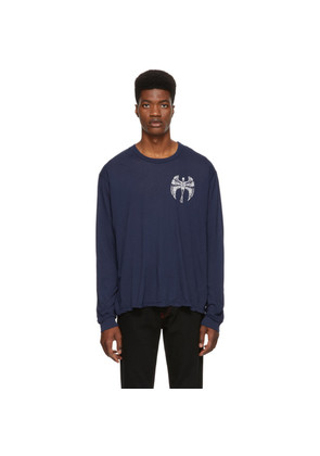 Adaptation Navy Skeleton Long Sleeve T-Shirt