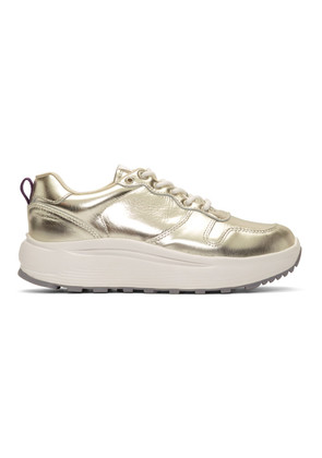 Eytys Gold Metallic Jet Sneakers