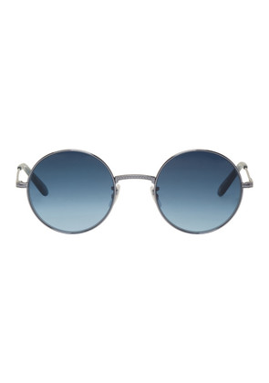 Garrett Leight Blue Seville 48 Sunglasses