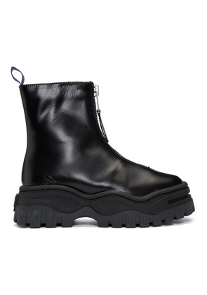 Eytys Black Leather Raven Boots