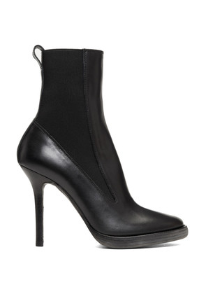 Haider Ackermann Black Elasticized High Boots