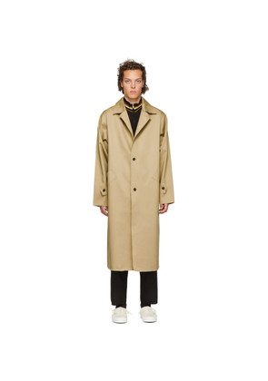 Camiel Fortgens Beige Mackintosh Trench Coat
