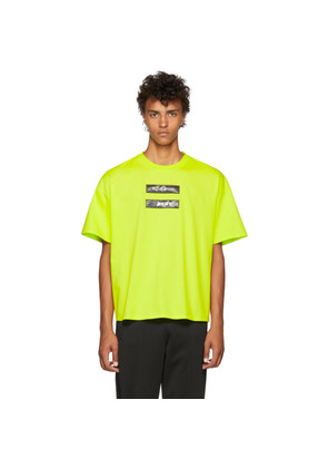 Doublet Green 'No Image' Lenticular T-Shirt